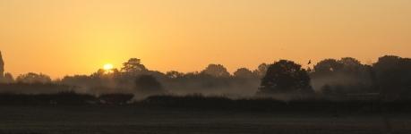 Sunrise in Telford
