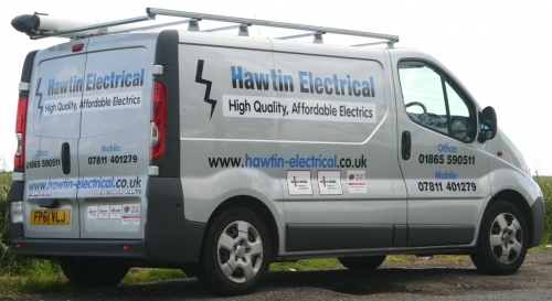 Hawtin Electrical Official Vehicle