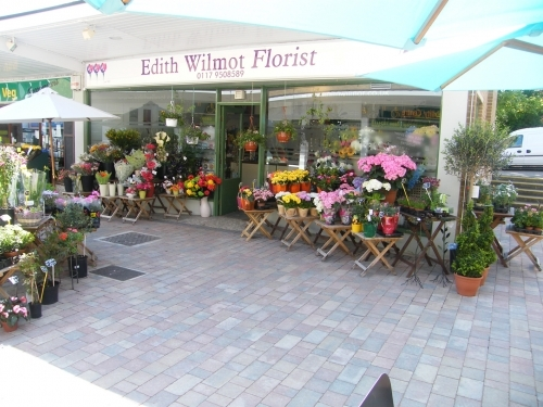 Outside of Edith Wilmot - Bristol Florist