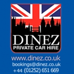 Dinez Taxis And Airport Transfers In Aldershot GU11 3EF, Hampshire, Local telephone in Aldershot is 01252 651669
