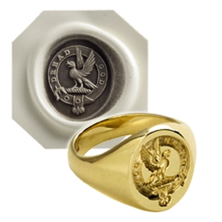 Signet Ring and Wax Impression - a speciality of Searle