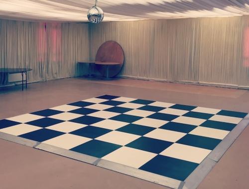 Black and White Dance Floor Peterborough