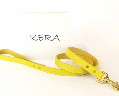 Luxury Yellow Dog Lead
