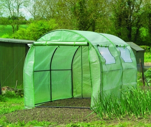 Polytunnels and greenhouses