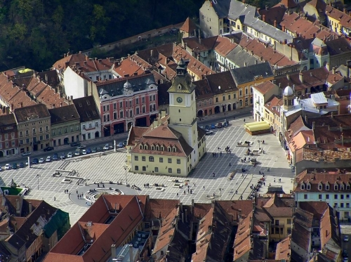 Romania - Brasov, council square
