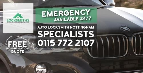 Emergency Auto Locksmith In Nottingham