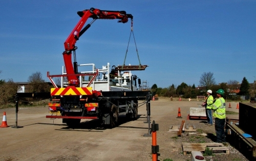 Lorry Loader Training at Station House training Centre