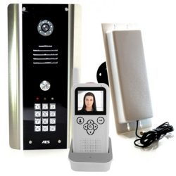 Entree Phone 605-ABK Wireless Video Intercom with Keypad