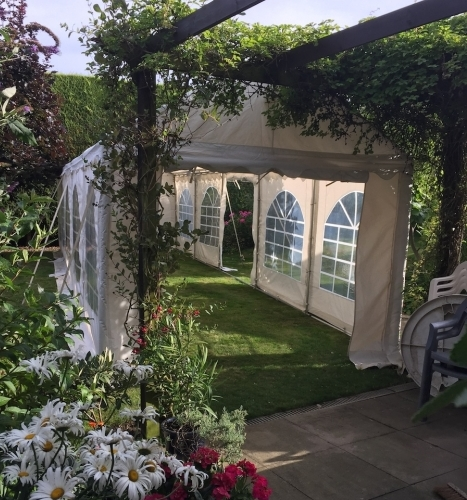 3m wide Anniversary Party Tent