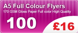A5 Full Colour Flyers