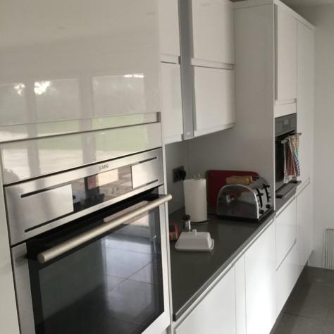 High Gloss Kitchens Tenby