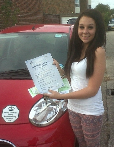 Hannah Porter 1st time pass