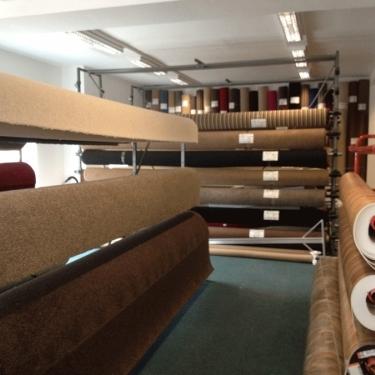 One Stop Carpets Nottingham Shop Interior