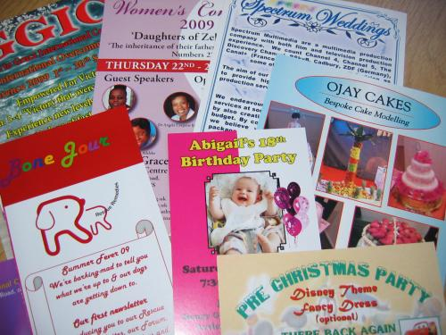 Full Colour Leaflets / Flyers