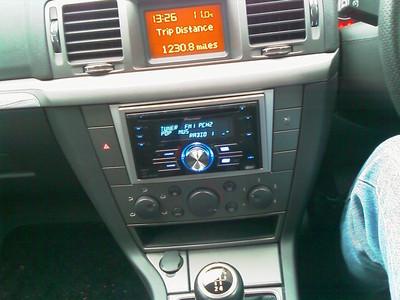 Pioneer Double Din Vauxhall Vectra