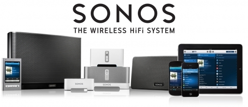 SONOS Wireless HiFi available from JMV