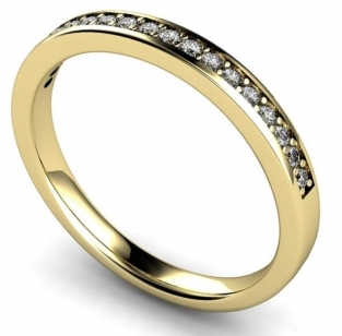 Semi Eternity Rings