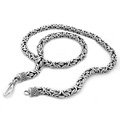 925 Sterling Silver Byzantine Necklace by Silver Nomad Jewellery UK