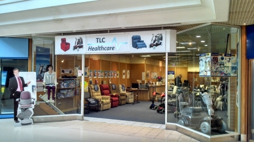 TLC Healthcare mobility shop in Dartford Kent