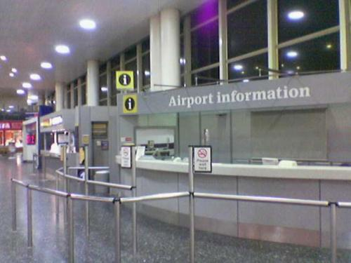 Our meeting points with customers is always inside the arrivals hall, unless otherwise agreed