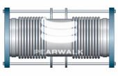 Double Tied Metallic Expansion Joint