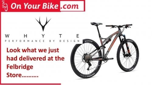 Full range of Whyte Full Suspension Bikes - new 2017 Models now in