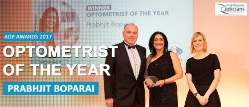 AOP UK Optometrist Of The Year 2017
