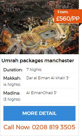 Umrah packages Manchester