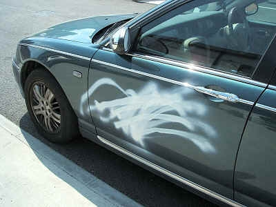 Rover Spray Paint.