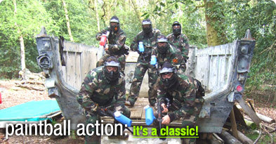 StagWeb's paintballing stag weekends are a top choice- the activity is available in loads of top destinations and it provides fun, healthy competition with the boys...
