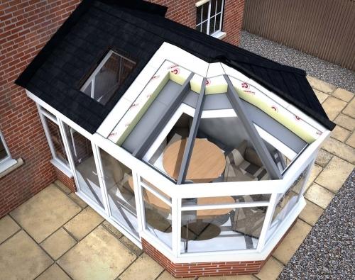 Leka roof