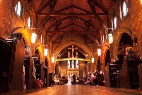 Vows in Christchurch, Newtown, Chester
