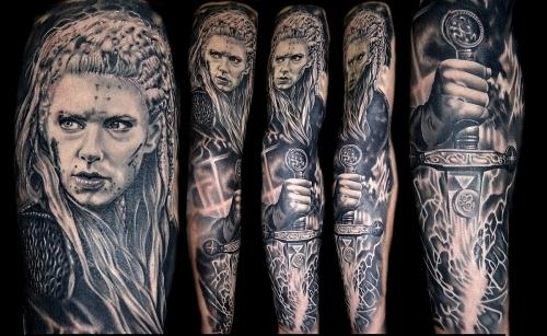Vikings Wariror tattoo