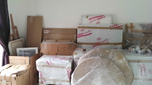 Packed items