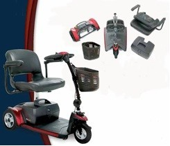 Mobility Scooters that quickly dismantle supplied by Newbury Mobility.co.uk