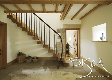1801 Custom Made Barn Staircase