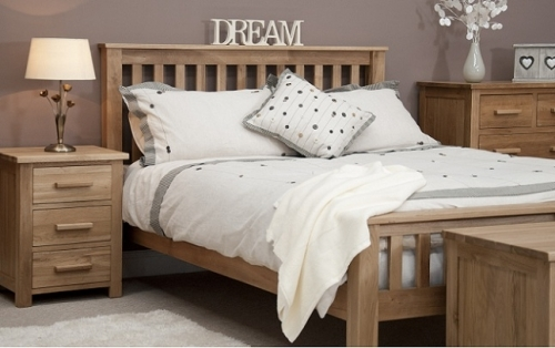Opus Solid Oak Bedroom Furniture