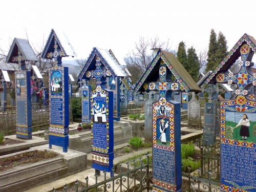 Romania - Merry cemetery - Maramures