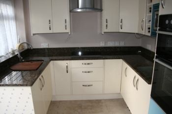 Baltic brown granite worktops in Yateley Hampshire.