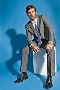 Slim cut Robson suit for spring summer