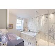 West London Mews House - Master Bathroom in Marble