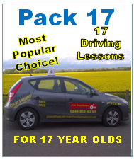 £17.00 driving lessons