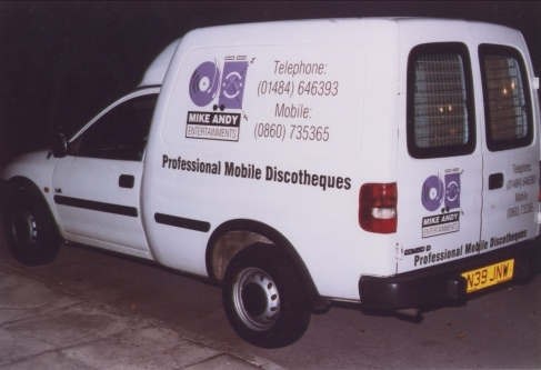Mike Andy Entertainments Corsa Van
