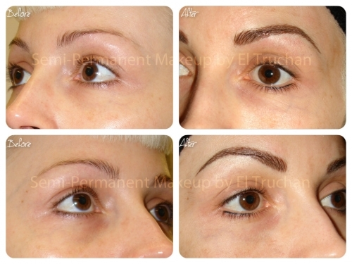 Semi Permanent Make up - Eyebrows by El Truchan @ Perfect Definition