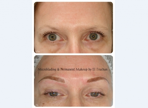 Eyebrows Permanent Makeup  By El Truchan @ Perfect Definition