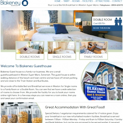 Blakeney Guesthouse Website