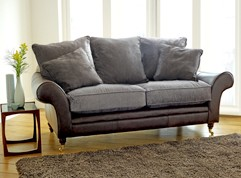 Atlanta Leather Fabric Sofa