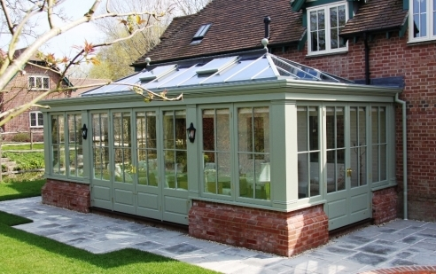 Bespoke Orangery which perfectly compliments the property