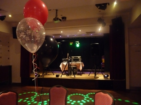 Set up at a 21st Party