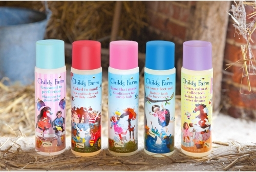 Childs Farm Organic Shampoo, Conditioner, Bodywash, Bubble Bath